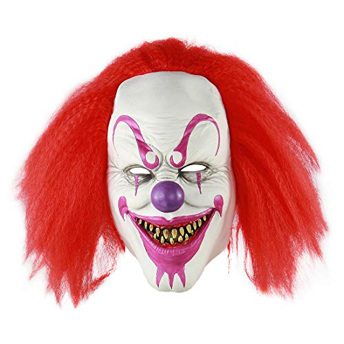 MICG Scary Voldemort Halloween Mask Horror Clown Joker Demon Cosplay Costume Masks]()