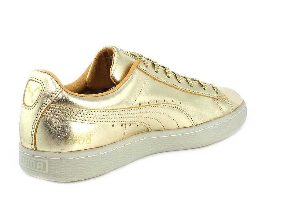 Puma Mens (50th Suede Classic (50th Mens Anniversary) Gold Gold Turnschuhe - 13 02b6f9