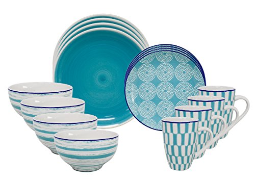 Euro Ceramica Simpatico Collection Dinnerware