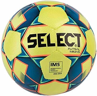 Select Mimas - Balón de fútbol para Adulto, Unisex, Color Amarillo ...