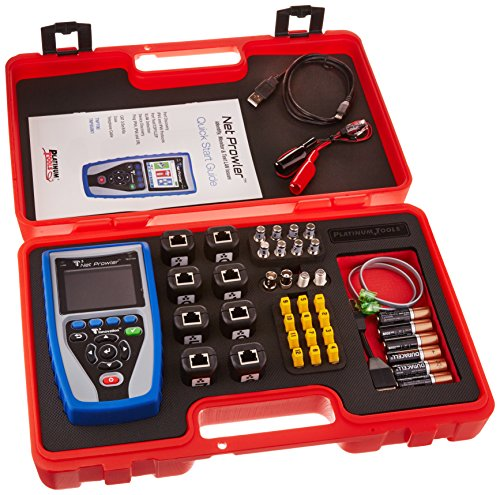 Platinum Tools TNP850K1 Net Prowler PRO Test Kit