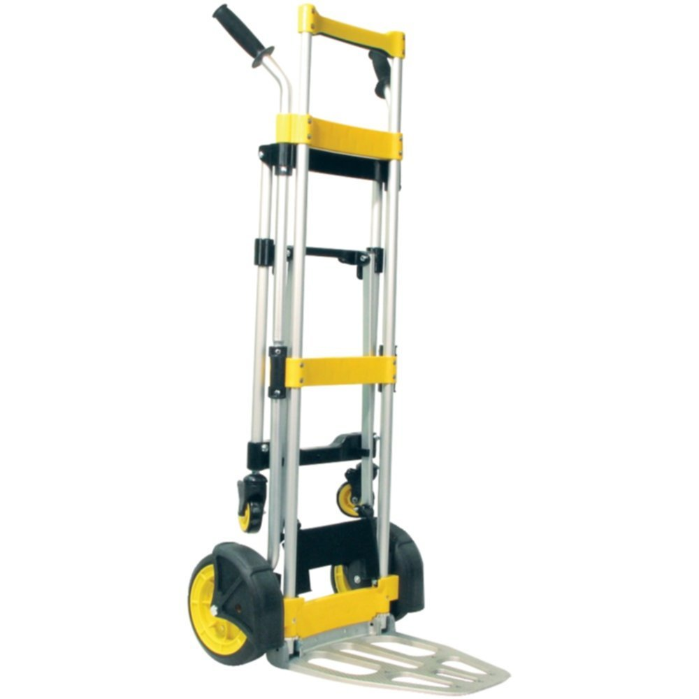 Monster Trucks HS-1032 Foldable Hand Truck Kickback Lightweight Aluminum Tools , Hand Tools by Unknown