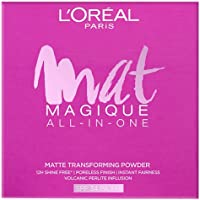 L'Oreal Paris Mat Magique All-In-One Pressed Powder, G2 Golden Ivory, 6g