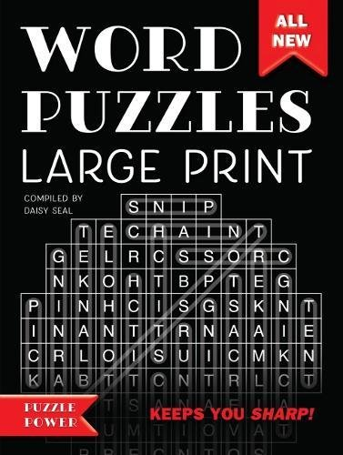Word Puzzles Large Print: Word Play Twists and Challenges (Puzzle Power)