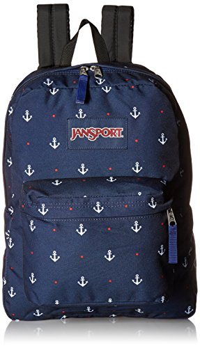 Jansport Backpack Superbreak Red Tape  School Book Bag