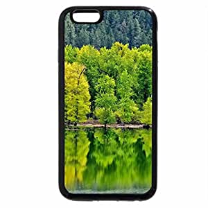 iPhone 6S / iPhone 6 Case (Black) Reflecting Trees