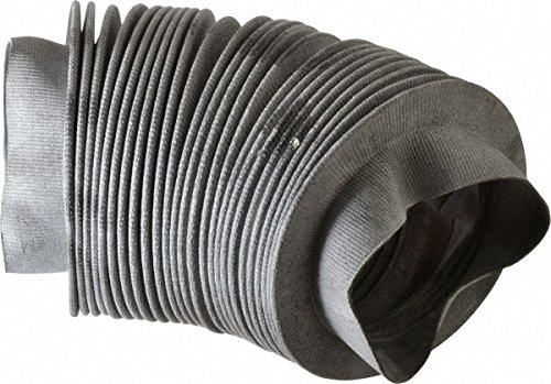 63415822 Made in USA - 24 Inch Long, 0.04 Inch Thick, Nylon Airtight Molded Bellow Thick Nylon Coupler