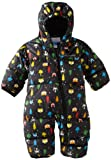 Columbia Unisex-baby Infant Snuggly Bunting, Black Fox Print, 18 Months image