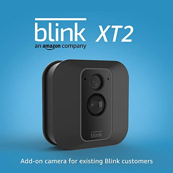 Blink XT2 Outdoor/Indoor Smart Security Camera with cloud storage included