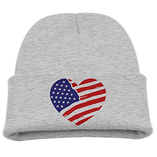 LEEALREN YS Hat For ChildrenUnited States Of America Flag2 Autumn Winter Warm Cap Cutehat For Adult Baby - Ys States