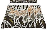 KESS InHouse Viviana Gonzalez''Africa-Abstract Pattern II'' King Cotton Duvet Cover, 104 x 88''