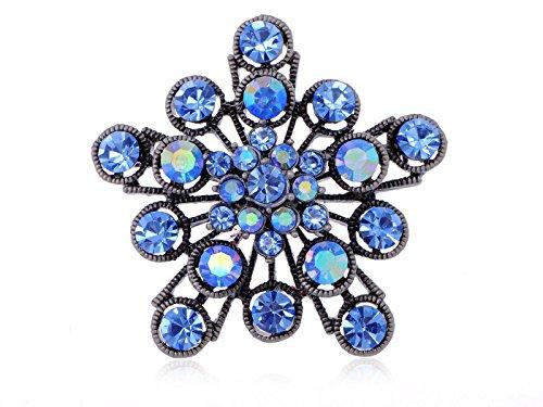 Starburst Flower Pin - 1