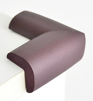 FiveSeasonStuff/® 12 St/ück Schaum Eckensch/ützer Tisch Standard L-Form Kastanienbraun Schaum Eckenschutz 12 St/ück /über 8mm dick
