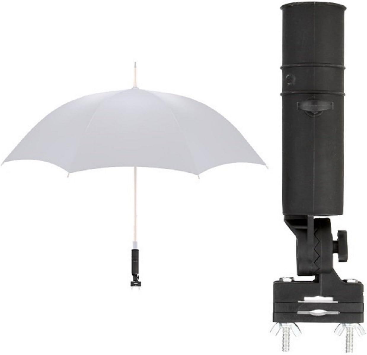 LL-Golf Universal Soporte para Paraguas para Silla/Carrito/Andador/Paraguas Soporte/Umbrella Holder