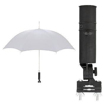 Universal Soporte para paraguas para silla / Andador / Carrito / paraguas soporte / Umbrella Holder: Amazon.es: Deportes y aire libre