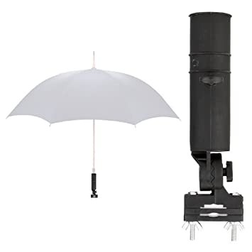 Universal Soporte para paraguas para silla / Andador / Carrito / paraguas soporte / Umbrella Holder