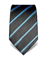 Vincenzo Boretti Men's Silk Tie - striped - many colors available