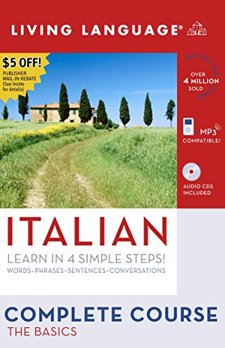 Complete Italian: The Basics (Book and CD Set): Includes Coursebook, 4 Audio CDs, and Learner's Dictionary (Complete Bas
