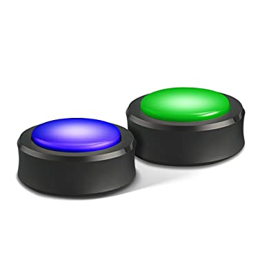 Echo Buttons (2 Buttons Per Pack)  - A gaming companion for your Echo
