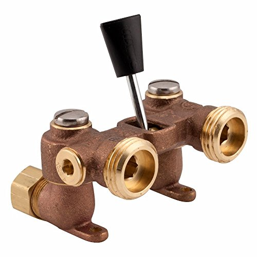 (Watts 2-M2 Duo-Cloz Manual Washing Machine Shutoff Valve with Brass Body, 1/2