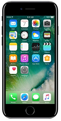 Apple iPhone 7 (Jet Black, 128GB)
