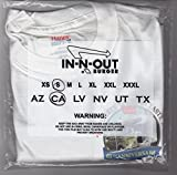 Collectible, In N Out Burger Anniversary T Shirt for Charity Fundraiser, Adult Size Small/Youth Large offers