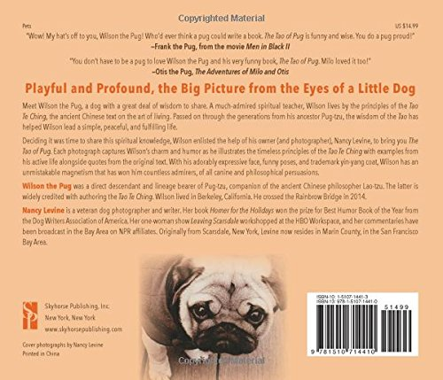 The Tao Of Pug Nancy Levine Wilson The Pug 9781510714410 Amazon