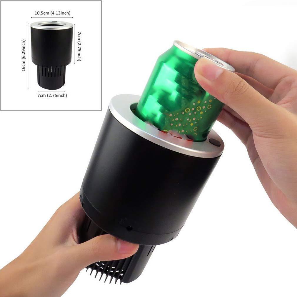 solo para ti Refrigerador del coche coche coche del tenedor de la taza del portavasos de enfriamiento interior del coche 12V pequeño, 1PCS