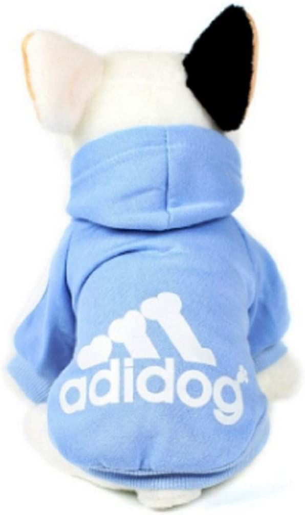 ,6 Colours KayMayn Adidog Sport Dog Hoodie Pet Puppy Dog Cat Shirt Coat Clothes Hoodie Sweater Costumes Big /& small Size S to 9XL