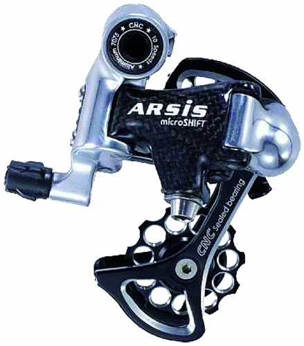 MicroSHIFT MIcroSHIFT ARSIS 10 Speed Short Cage Rear Derailleur by microSHIFT B00HFC05II
