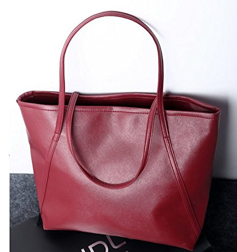 Woman Casual Big Bags Handbag Fashion Shopper Bag Leather Tote Dames Shopper Shoulder Bags