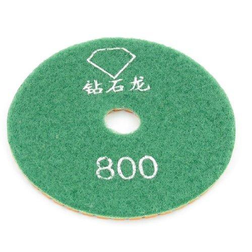 eDealMax DE 3,9 pulgadas Dia Grit 800 losa de Piedra amoladora Diamante tampones Para pulir