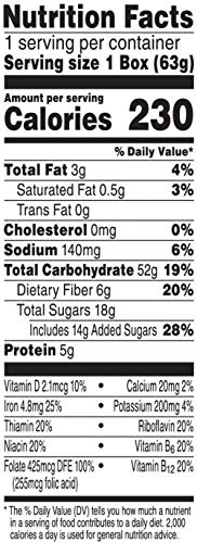 Kellogg's Breakfast Cereal, Low Fat Granola with Raisins, Low Fat, Good Source of Fiber, Single Serve, 2.2 oz Box(Pack of 70) by Kellogg's (Image #1)