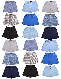 Boys 18 Pack Cotton Boxer Shorts