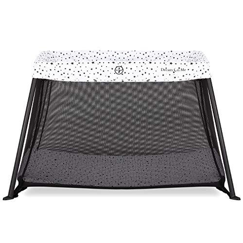 Dream On Me, Travel Light Playard, White