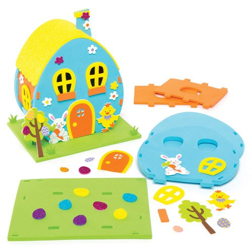 Amazon Easter Egg House Craft Kits For Children To Make