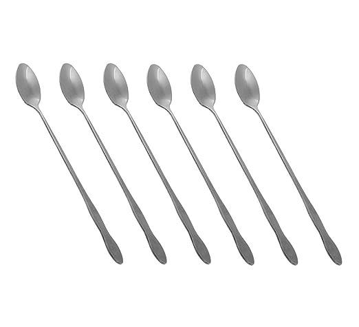 3 opinioni per HornTide Mixing Spoon Set 8 Inch da 6 pezzi 20cm Cucchiaio lungo manico per Ice