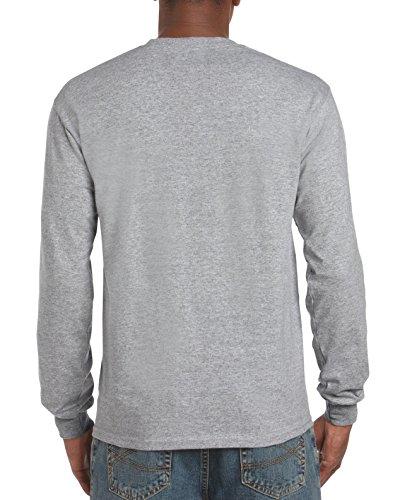 Gildan Mens Ultra Cotton Long Sleeve T-Shirt 2-Pack Style G2400