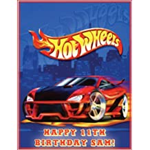 "Single Source Party Supplies - Hot Wheels Cake Edible Icing Image #1 - 8.0"" x - 10.5"" Rectangular"