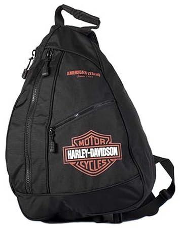 c618573811a4 Harley-Davidson Bar   Shield Sling Backpack BP1957S-ORGBLK