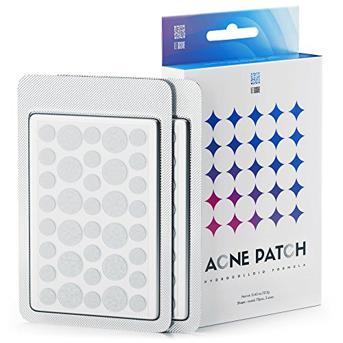 Medicated Acne Package - Acne Pimple Master Patch 72 dots - Absorbing Hydrocolloid Blemish Spot Skin Treatment and Care Dressing
