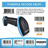 Trohestar Bluetooth Barcode Scanner with USB