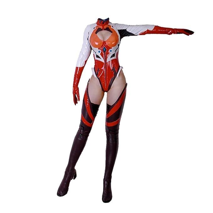 Amazon.com: The cos Wolrd Anime EVA Evangelion Figura Soryu ...