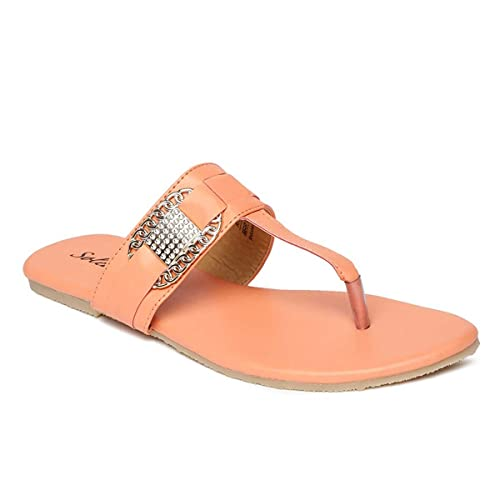 a6a3315ddf6 PARAGON SOLEA Plus Women s Pink Flip-Flops  Buy Online at Low Prices in  India - Amazon.in