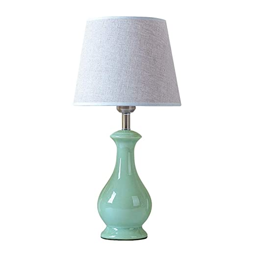 Lámparas de Mesa con Pantalla de Tela - Lámpara de sobremesa de ...