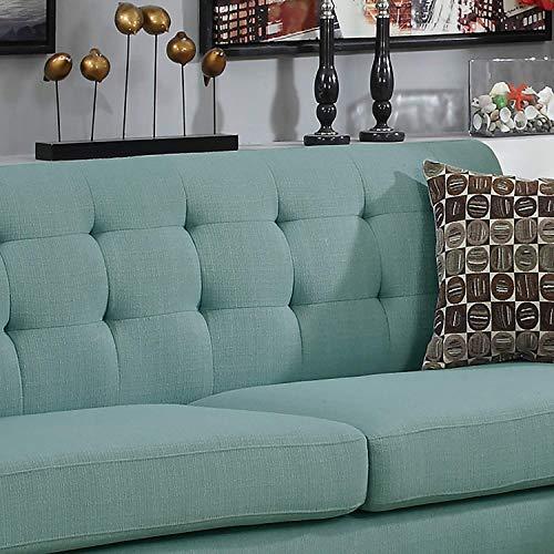 Outstanding Poundex F6914 Bobkona Sonya Linen Like 2 Piece Sofa And Theyellowbook Wood Chair Design Ideas Theyellowbookinfo