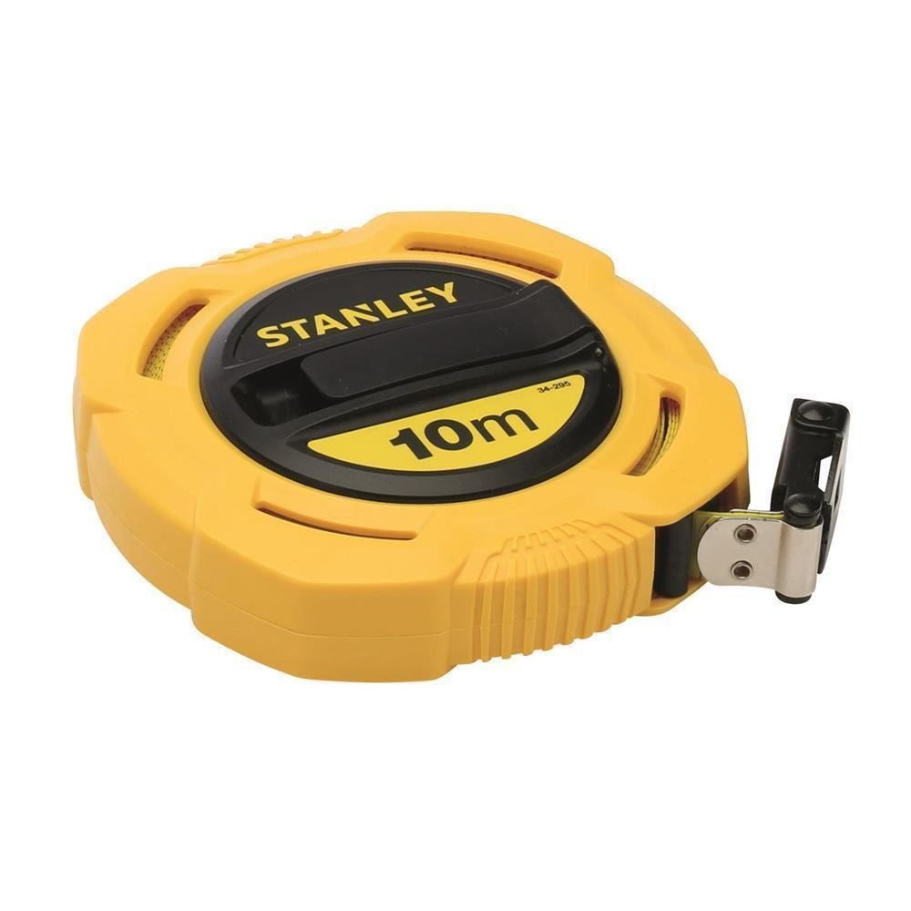STANLEY 0-34-295 - Cinta larga fibra de vidrio estandar 10m x 12, 5mm cerrada