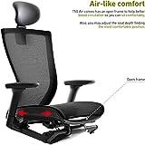 SIDIZ T50 AIR Home Office Desk Chair : Mesh Seat