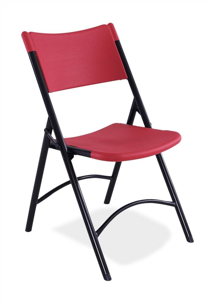 amazon com national public seating blow molded folding chair set