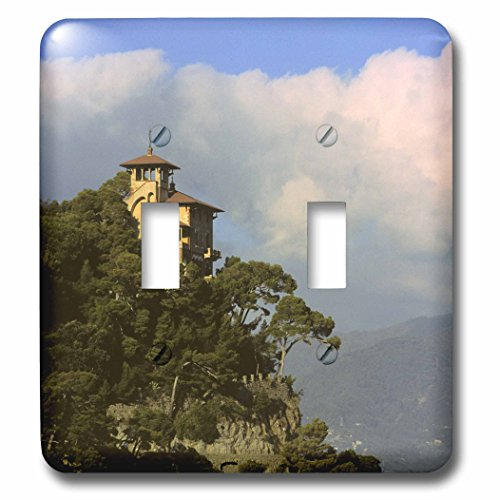 (3dRose lsp_82120_2 Italy, Portofino, Mediteranean Coast Eu16 Kwi0003 Kymri Wilt Double Toggle Switch)